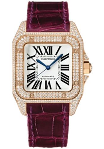 Cartier Watches - Santos 100 Medium - Style No: WM502151