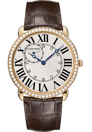 Cartier Watches - Ronde Louis Cartier 42mm - Pink Gold - Style No: WR007001
