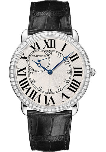 Cartier Watches - Ronde Louis Cartier 42mm - White Gold - Style No: WR007002