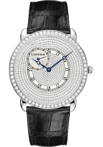 Cartier Watches - Ronde Louis Cartier 42mm - White Gold - Style No: WR007003