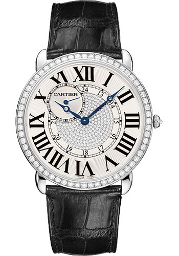 Cartier Watches - Ronde Louis Cartier 42mm - White Gold - Style No: WR007004