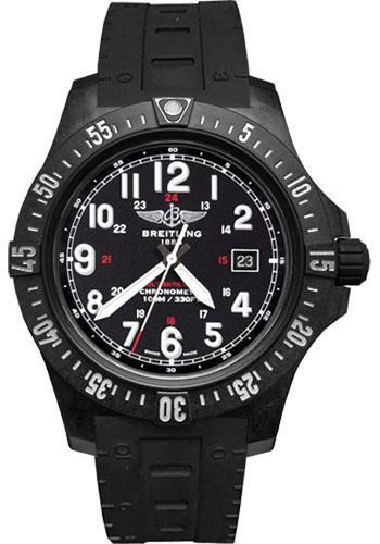 Breitling Watches - Colt Skyracer Breitlight - Rubber Skyracer - Tang - Style No: X74320E4/BF87-rubber-skyracer-black-tang