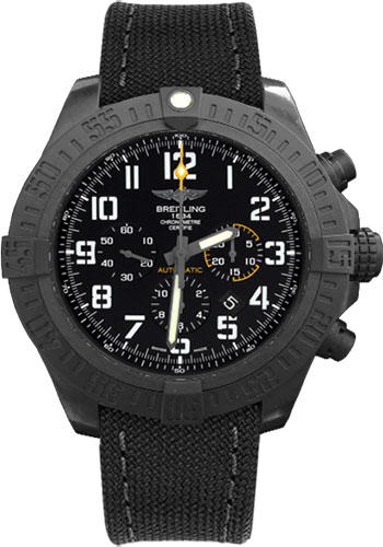 Breitling Watches - Avenger Hurricane 50mm - Military Strap - Style No: XB0170E4/BF29-military-anthracite-tang