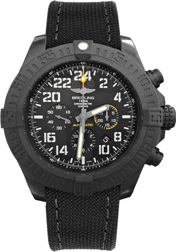 Breitling Watches - Avenger Hurricane 50mm - Military Strap - Style No: XB1210E4/BE89-military-anthracite-tang