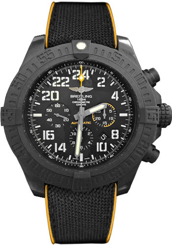 Breitling Watches - Avenger Hurricane 50mm - Military Rubber Strap - Style No: XB1210E4/BE89/257S/X20D.4