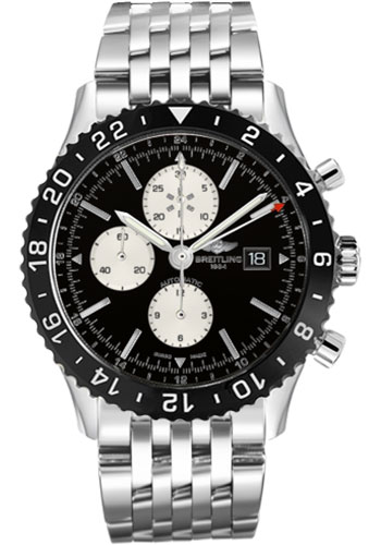 Breitling Watches - Chronoliner Stainless Steel - Style No: Y2431012/BE10-navitimer-steel