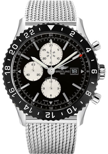 Breitling Watches - Chronoliner Stainless Steel - Style No: Y2431012/BE10/152A