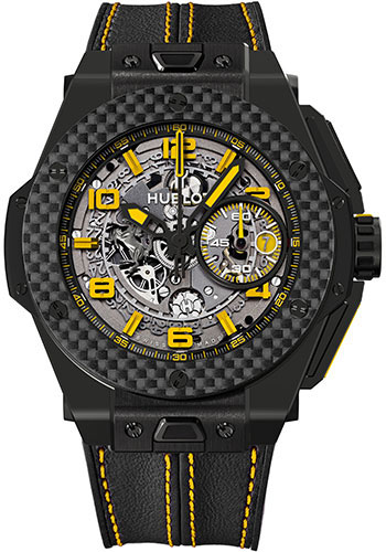 Hublot Watches - Big Bang 45mm Ferrari - Ceramic - Style No: 401.CQ.0129.VR