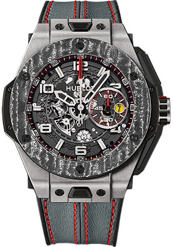 Hublot Watches - Big Bang 45mm Ferrari - Titanium - Style No: 401.NJ.0123.VR