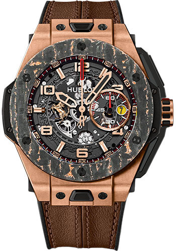 Hublot Watches - Big Bang 45mm Ferrari - King Gold - Style No: 401.OJ.0123.VR