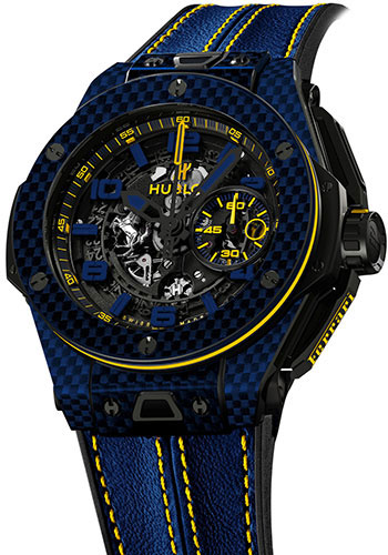 Hublot Watches - Big Bang 45mm Unico Ferrari Brazil - Style No: 401.QL.0199.VR.FBR15