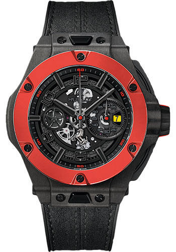 Hublot Big Bang 45mm Ferrari Carbon Red Ceramic Watches