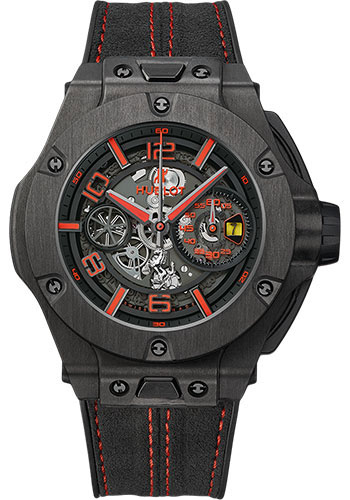 Hublot Watches - Big Bang 45mm Ferrari - Carbon - Style No: 402.QU.0113.WR