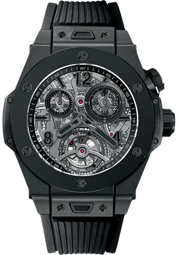 Hublot Watches - Big Bang 45mm Tourbillon Chronograph Cathedral Minute Repeater - Style No: 404.CI.0110.RX