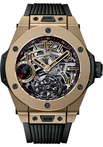 Hublot Watches - Big Bang 45mm Tourbillon Power Reserve 5 Days - Style No: 405.MX.0138.RX