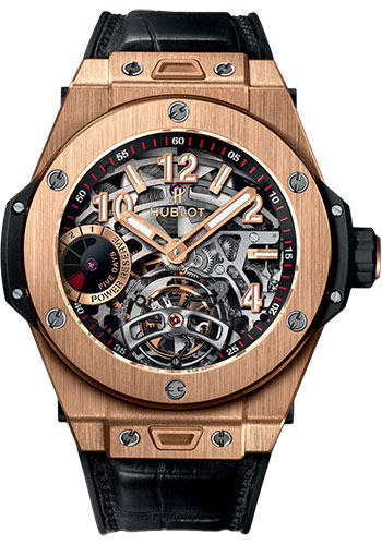 Hublot Watches - Big Bang 45mm Tourbillon Power Reserve 5 Days - Style No: 405.OX.0138.LR