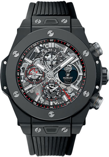Hublot Watches - Big Bang 45mm Unico Black Magic - Style No: 406.CI.0170.RX
