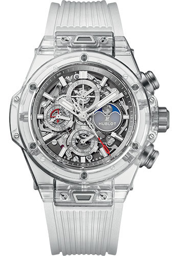 Hublot Watches - Big Bang 45mm Unico Sapphire - Style No: 406.JX.0120.RT