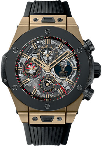 Hublot Watches - Big Bang 45mm Unico Magic Gold Ceramic - Style No: 406.MC.0138.RX