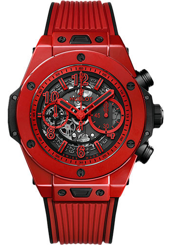 Hublot Watches - Big Bang 45mm Unico Red Magic - Style No: 411.CF.8513.RX