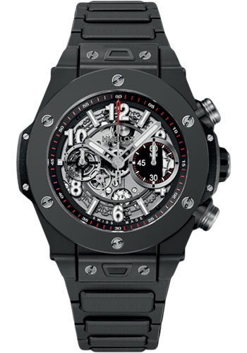 Hublot Watches - Big Bang 45mm Unico Black Magic - Style No: 411.CI.1170.CI