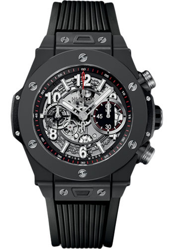 Hublot Watches - Big Bang 45mm Unico Black Magic - Style No: 411.CI.1170.RX