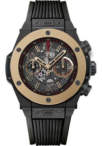 Hublot Watches - Big Bang 45mm Unico Magic Gold - Style No: 411.CM.1138.RX