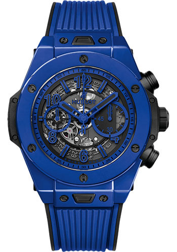 Hublot Watches - Big Bang 45mm Unico Blue Magic - Style No: 411.ES.5119.RX