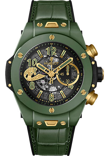 Hublot Watches - Big Bang 45mm Unico World Boxing Council - Style No: 411.GX.1189.LR.WBC19