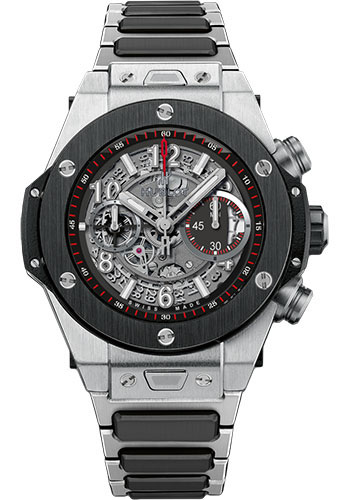 Hublot Watches - Big Bang 45mm Unico Titanium Ceramic - Style No: 411.NM.1170.NM