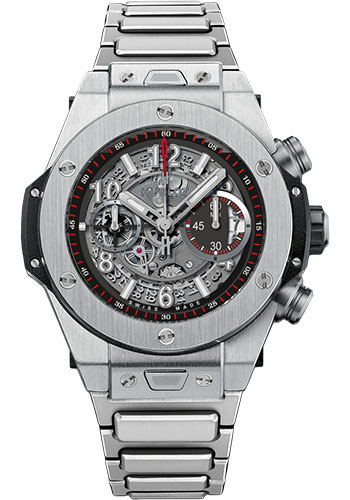 Hublot Watches - Big Bang 45mm Unico Titanium - Style No: 411.NX.1170.NX