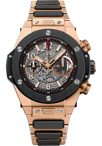 Hublot Watches - Big Bang 45mm Unico King Gold Ceramic - Style No: 411.OM.1180.OM
