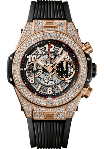 Hublot Watches - Big Bang 45mm Unico King Gold - Style No: 411.OX.11180.RX.1704