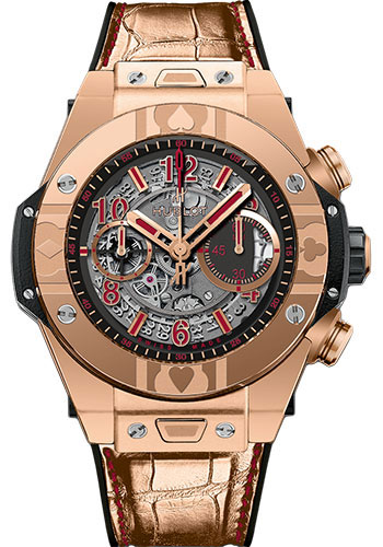Hublot Watches - Big Bang 45mm Unico World Poker Tour - Style No: 411.OX.1180.LR.WPT15