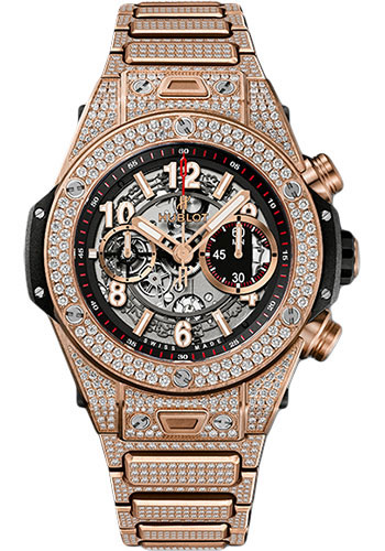 Hublot Watches - Big Bang 45mm Unico King Gold - Style No: 411.OX.1180.OX.3704