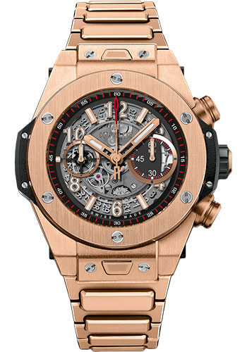 Hublot Watches - Big Bang 45mm Unico King Gold - Style No: 411.OX.1180.OX