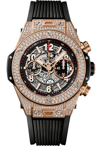 Hublot Big Bang 45mm Unico King Gold Watches From Swissluxury