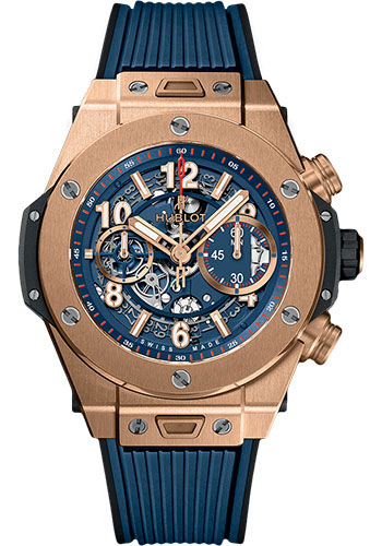 Hublot Watches - Big Bang 45mm Unico King Gold - Style No: 411.OX.5189.RX