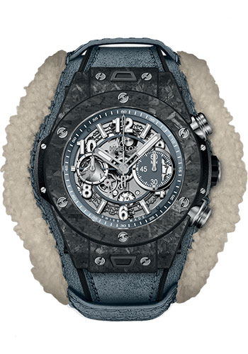 Hublot Watches - Big Bang 45mm Unico Frosted Carbon - Style No: 411.QK.7170.VR.ALP18