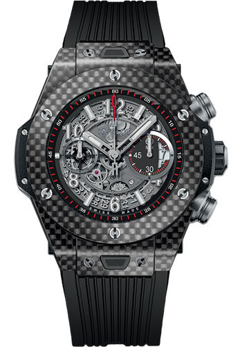 Hublot Watches - Big Bang 45mm Unico Carbon - Style No: 411.QX.1170.RX