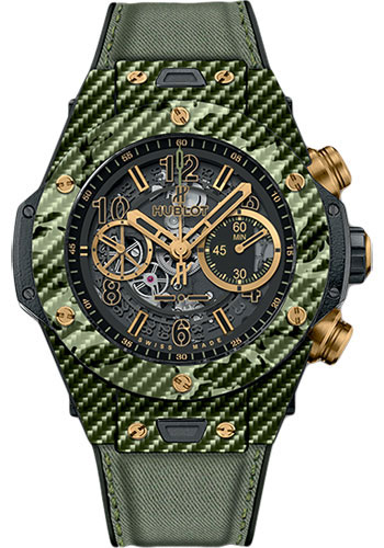 Hublot Watches - Big Bang 45mm Unico Camo - Style No: 411.YG.1198.NR.ITI16