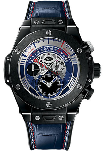 Hublot Watches - Big Bang 45mm Unico Retrograde Euro 2016 - Style No: 413.CX.7123.LR.EUR16