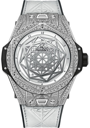 Hublot Watches - Big Bang 45mm Sang Bleu - Titanium - Style No: 415.NX.2027.VR.1704.MXM18