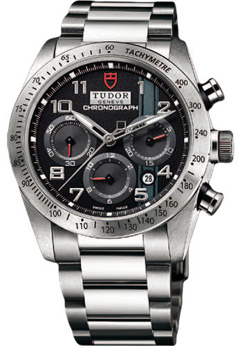 Tudor Watches - Fastrider Chronograph - Bracelet - Style No: 42000-95730-blackarabic