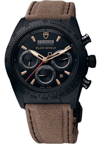 Tudor Watches - Fastrider Black Shield - Style No: 42000CN-alcantara