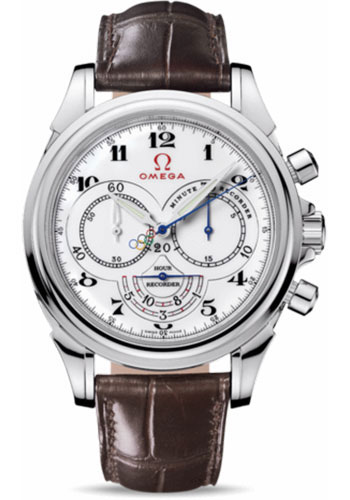 Omega Watches - De Ville Olympic Collection Timeless - Style No: 422.13.41.50.04.001