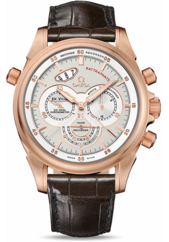 Omega Watches - De Ville Co-Axial Rattrapante Red Gold - Style No: 422.53.44.51.02.002