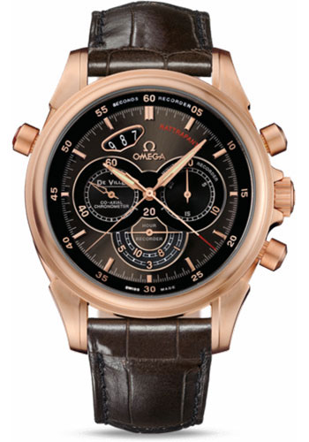 Omega Watches - De Ville Co-Axial Rattrapante Red Gold - Style No: 422.53.44.51.13.001
