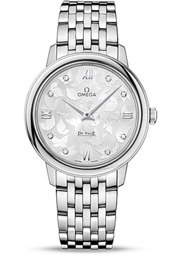 Omega Watches - De Ville Prestige Quartz 32.7 mm - Stainless Steel - Style No: 424.10.33.60.52.001