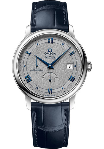 Omega Watches - De Ville Prestige Co-Axial Power Reserve - 39.5 mm - Stainless Steel - Style No: 424.13.40.21.06.002
